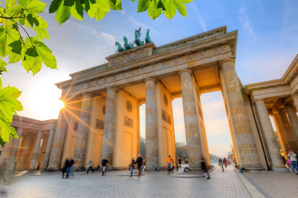 Small Brandenburg gate